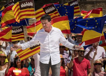Valls da el paso y optará a la alcaldía de Barcelona con el apoyo de Rivera