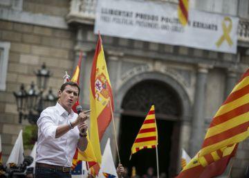 Rivera acusa a Torra de ?alentar la violencia? y de no representar a los catalanes