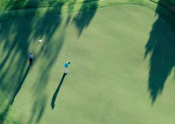 El amigo golfista