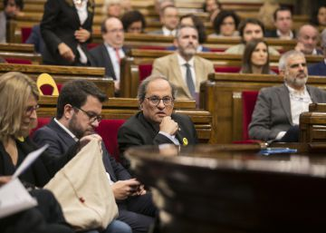 El Gobierno actuará contra el Parlament tras censurar al Rey