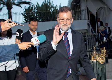 Rajoy, en su marcha de Santa Pola: ?Uno no se va nunca de los sitios y siempre puede volver?