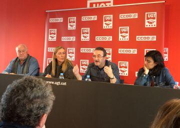 Funcionarios catalanes irán a la huelga por el retraso en las pagas extra