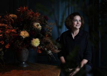 """Sally Hambleton: """"Dejé los números por las flores y soy muy feliz"""""""