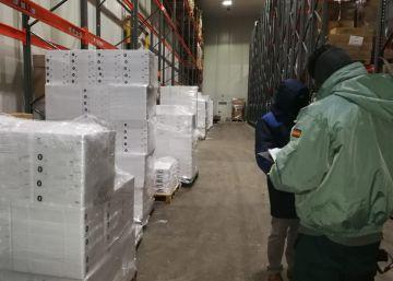 Inmovilizadas 153,5 toneladas de cigalas sin garantías sanitarias en Galicia