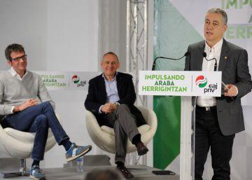 """Urkullu culpa a la oposición de formar una """"alianza del no"""" para bloquear sus presupuestos"""