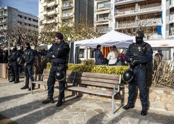 Tensió en el boicot a diversos actes de Vox a Catalunya