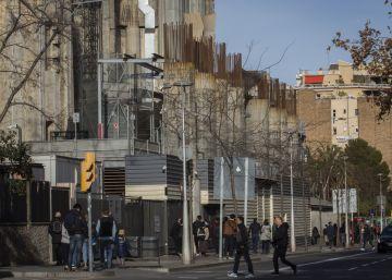 La Sagrada Família construirà un gran voladís sobre el carrer Mallorca