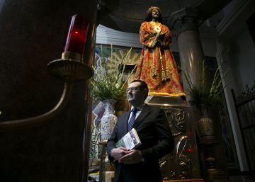 """""""Un incendio en la Plaza Mayor sacó del ostracismo al Cristo de Medinaceli"""""""