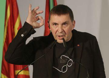 """Otegi: """"Hay que votar a EH Bildu porque no nos quieren en Madrid"""""""