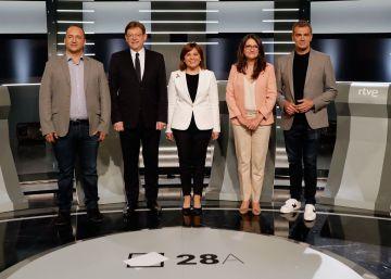 Puig y Oltra eluden criticarse y Cantó pasa al ataque con Bonig en un nuevo debate con las mismas ideas
