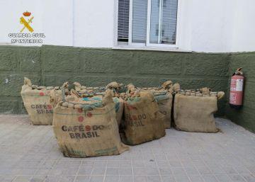 Interceptan en una nave de Alquerías 300 kilos de cocaína camuflados en un contenedor