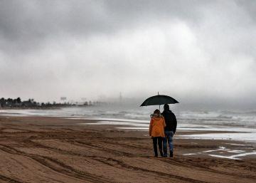 La Aemet eleva a naranja la alerta por lluvias y vientos