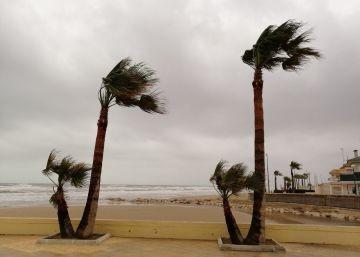 Lluvias torrenciales en La Marina Alta y La Safor