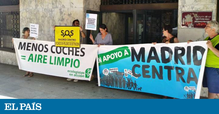 La Plataforma En Defensa De Madrid Central Presenta Otro