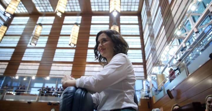 Díaz Ayuso, la nueva dama de hierro del PP