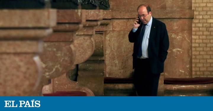 El PSC se lanza a la conquista del votante de Ciudadanos - EL PAIS