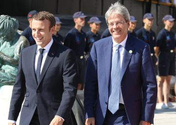 Italia chirría en la Europa de Macron