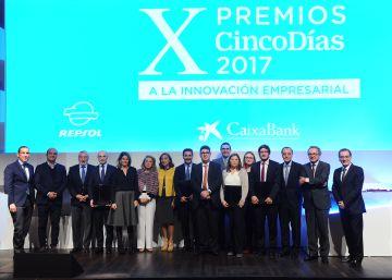 Así han sido los X Premios Cinco Días a la innovación empresarial