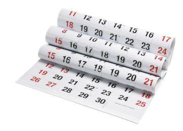 Calendario 2019 de días inhábiles