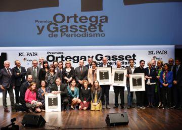 Los premios Ortega y Gasset reconocen el periodismo comprometido