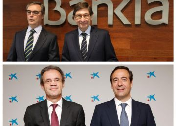 CaixaBank y Bankia negocian su fusión