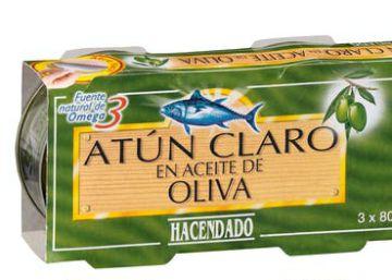 ¿Quiénes producen las latas de atún de Hacendado, Carrefour o Dia?