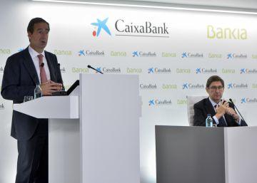 CaixaBank y Bankia se comprometen a no dar dividendo hasta cerrar la fusión
