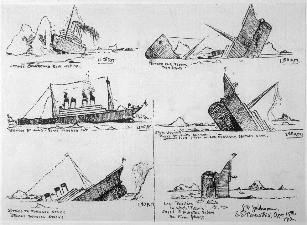 Fotos 100 Años Del Hundimiento Del Titanic Cultura El País