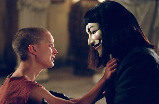 Resultado de imagen para V de Vendetta peli