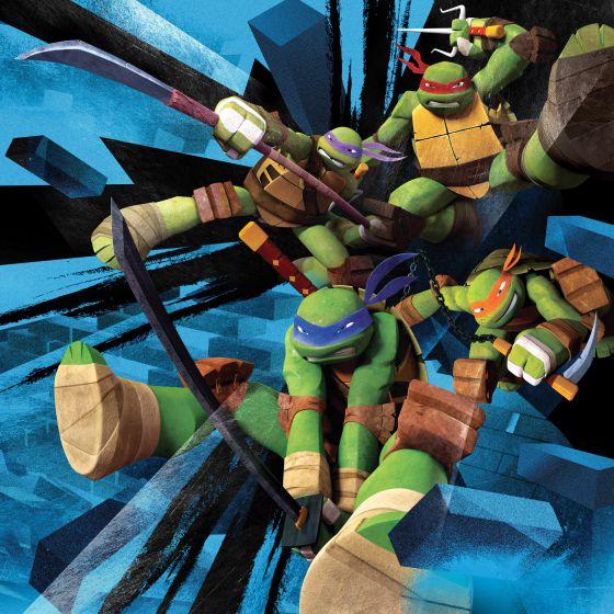 Las Tortugas Ninja Reparten Justicia De Nuevo Televisión