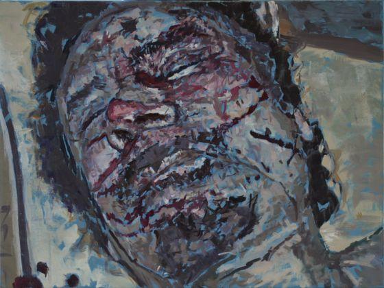 Gadafi, Un Cadáver Exquisito Para La Pintura