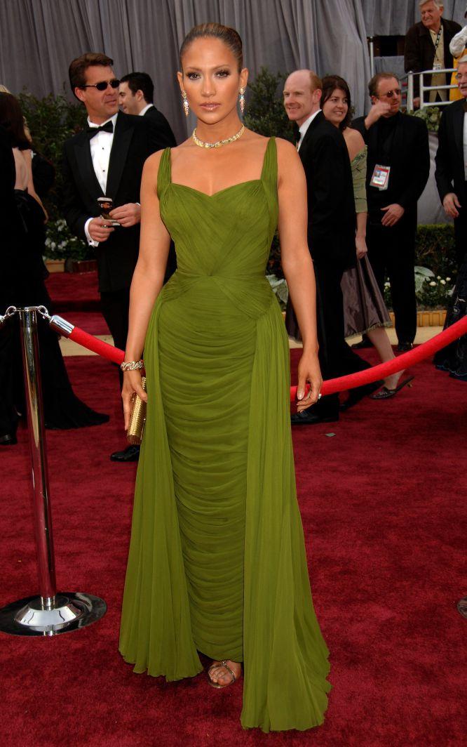 Jennifer lopez con vestidos de noche