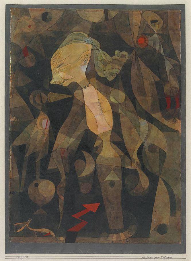 Aventura de una joven mujer, 1922.