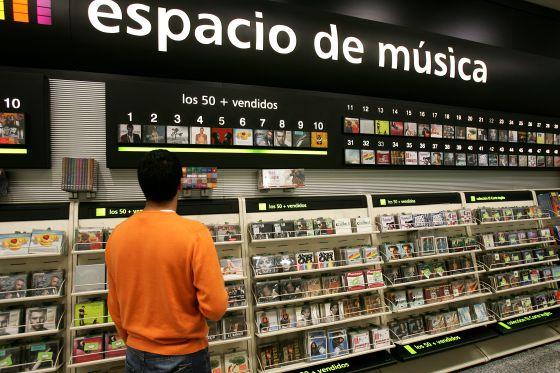 La venta de música grabada bajó un 71,5% en una década