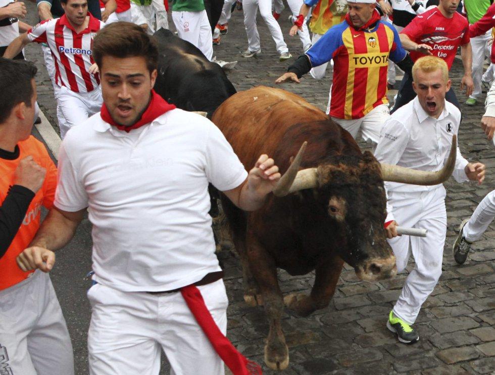 Fotos sanfermines 2014 san ferm n d a 3 cultura el pa s for Calle prado panetes 10 guadalix de la sierra