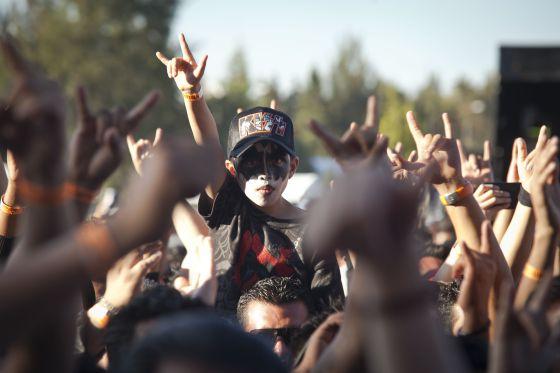 Seis años y fan del 'metal'   Cultura   EL PAÍS