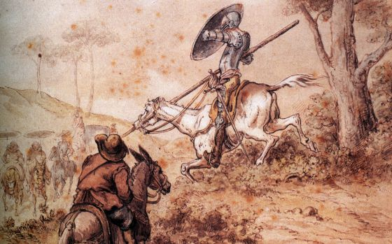 Miguel de Cervantes: Don Quijote de La Mancha: ¿realidad o