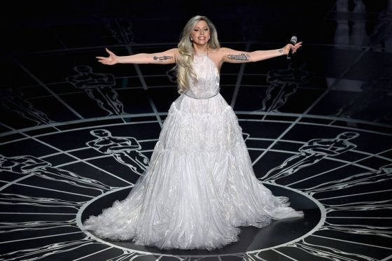 lady gaga oscars 2017 - photo #39