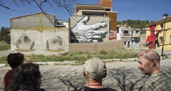 Fanzara capital del grafiti  Cultura  EL PAS