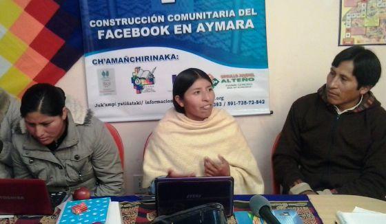 Bolivian Facebook Translation Indigenous Bolivians Translate Into Aymara In English El PaÍs
