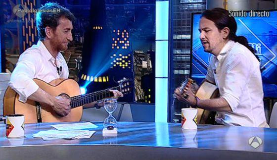 Pablo Iglesias En El Hormiguero Punto Para Iglesias Television