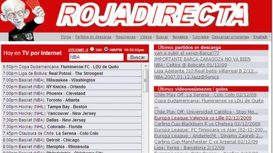 Un Juzgado Acuerda El Cierre Cautelar De Rojadirecta Televisión El País