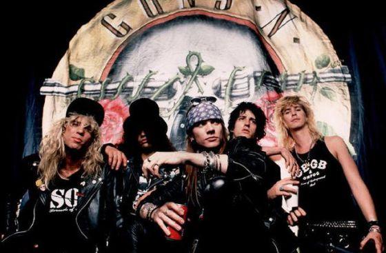 Guns 'n' Roses Vuelve A Los Escenarios Con Su Formación