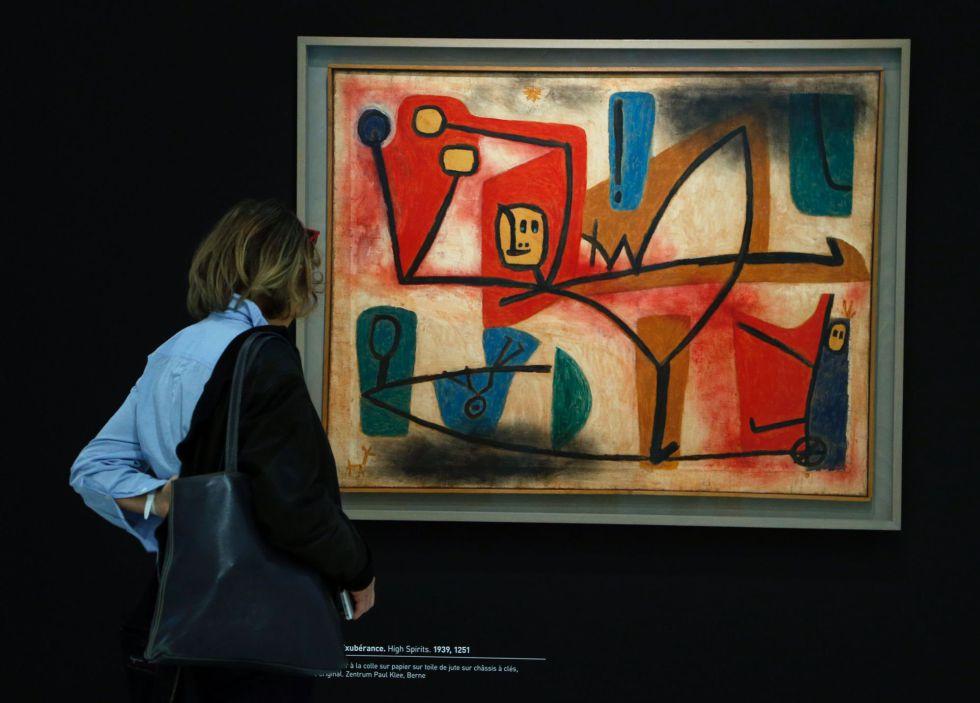 Arte contempor neo paul klee en par s el arte como for Estilo literario contemporaneo