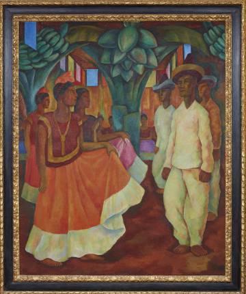 Baile En Tehuantepec Un Rivera Es La Obra Latinoamericana Mas