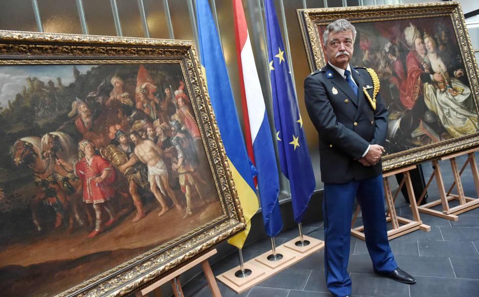 Devueltos a Holanda cinco cuadros del Siglo de Oro robados en 2005 ...