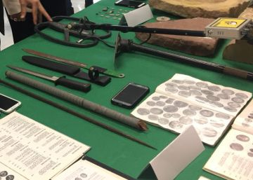 Seis detenidos en Jaén por expoliar 748 piezas íberas y romanas