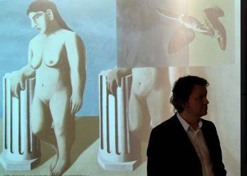 El último fragmento de un cuadro perdido de Magritte completa el ?puzzle? en Bruselas