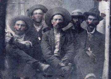 Hallada una foto con dos leyendas del Oeste juntas: Billy El Niño y Pat Garret