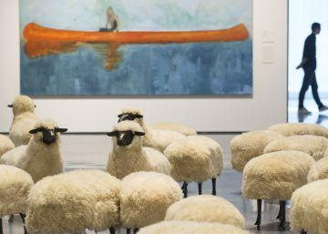 El Pompidou de Málaga renueva su colección con un viaje a las utopías